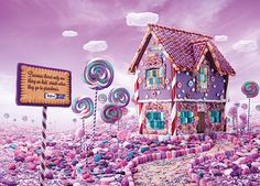 The Candy House by Randy Raharja, via Behance