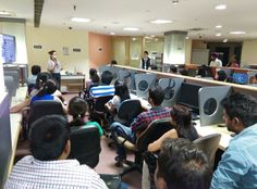 Ms. Parul Raghav, Assistant Manager, Xinoe Systems, enlightening the students