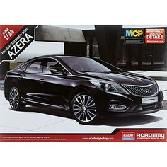 Academy 1/24 Hyundai Azera Premium Tech Sporty Sedan