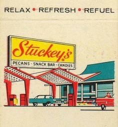 stopping at Stuckeys for Pecan Divinity candy for my mother...