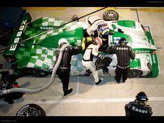 Porsche RS Spyder At Le Mans 24 Hours