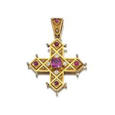 Victorian Jewelry, Antique Jewelry, Vintage Jewelry, Ancient Jewelry, Byzantine Jewelry, Cross Art, Diamond Brooch, Diamonds And Gold, Cross Jewelry