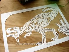 Three new papercut template designs are now up on the shop Steampunk…