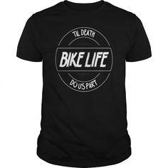 Bikelife Till Death Do Us Part T Shirts, Hoodies. Check price ==► https://www.sunfrog.com/Sports/Bikelife--Till-Death-Do-Us-Part-Black-Guys.html?41382