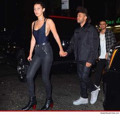 The Weeknd, Bella Hadid -- In Case You Didn't Notice ... We're Together - http://www.hollywoodfame.com/the-weeknd-bella-hadid-in-case-you-didnt-notice-were-together.html