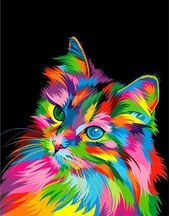 Colorful animal paintings - 40 Best Colorful Paintings Of Animals – Colorful animal paintings Colorful Animal Paintings, Colorful Animals, Cute Animals, Anime Animals, Pop Art Paintings, Painting Art, Abstract Animal Art, Indian Paintings, Canvas Paintings