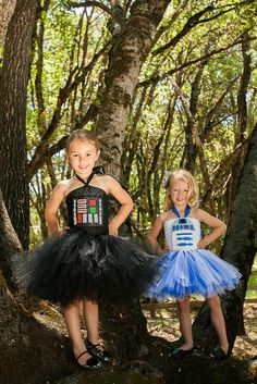 Here are the measurements of dresses from the waist down:   Here is our Darth Vader tutu dress. Made with a black tutu top with Darth Vader chest armor. Newborn- 3 months ***********6  3-6 months *******************7  6-9 months *******************8  12 months ********************9  18 months ********************9  2T*****************************9  3T ****************************10  4T ****************************11   5*******************************12  6*******************************12…