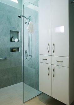 shower niche placement