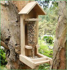 New Zealand Bird Feeders Bird Houses Bird Seed Wood Bird Feeder, Bird House Feeder, Homemade Bird Feeders, Bird Houses Diy, Bird Boxes, Woodworking Projects That Sell, Backyard Birds, Garden Furniture, Outdoor Decor