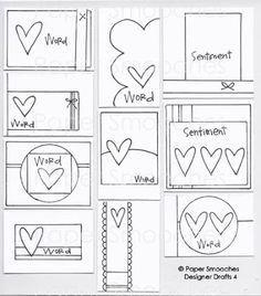 Paper Smooches: Designer Drafts