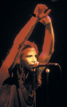 singer Eddie Vedder from Pearl Jam performs live on stage at the Melkweg in Amsterdam Netherlands on February 1992 Jeff Ament, Pearl Jam Eddie Vedder, Cat Stevens, Alice In Chains, First Love, My Love, Chris Cornell, Tom Petty, Sebastian Bach