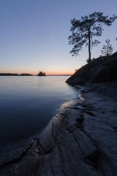 Sunset from Lake Saimaa Finland. Finland, Norway, Sweden, Oc, Scenery, Poster, Earth, Sunset, Thesis