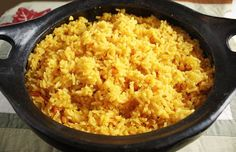 We are big rice eaters in my house and one of my specialties is Latin yellow rice. This is a delicious side dish for any chicken or meat dish! A lot of people tell me they can't make rice, this is a fool proof method to make perfect fluffy rice every time! Latin Yellow Rice Gina's Weight Watcher Recipes Servings: 8 • Serving Size: 3/4 cup •Points+: 5 pts • Smart Points: 6 Calories: 193.2 • Fat: 2.1 g • Protein: 3.8 g • Carb: 38.8 g • Fiber: 1 g Ingredients: 2 cups uncooked long ...