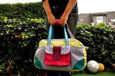 Joanna´s Näh- & Foto-Blog: RUMS #37 // Little Holiday Bag