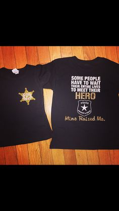 Police officer daughter shirt by StudioChaseDesigns on Etsy
