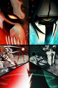 Ichigo vs Ulquiorra 2 by on DeviantArt - Yandere Manga Bleach Anime Art, Bleach Fanart, Bleach Manga, Espada Anime, Bleach Ichigo Bankai, Bleach Tattoo, Bleach Pictures, Bleach Characters, Latest Anime