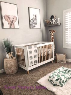 Baby Girl Nursery Room İdeas 659847782885953329 – neutral safari baby nursery with zebra, elephant and giraffe art Source by OhBabyTemplates Safari Theme Nursery, Baby Nursery Decor, Nursery Neutral, Nursery Room, Girl Nursery, Jungle Safari, Nursery Ideas, Room Ideas, Babies Nursery
