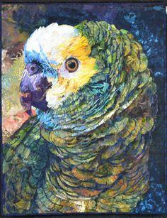 Ruffled Feathers by Roxanne Nelson. 2011 NQA show award (Columbus, Ohio)