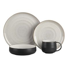 Crate and Barrel Exclusive  18th St. Dinnerware    $39.95 open stock $44.80  18thSt4pcPlcsetS12