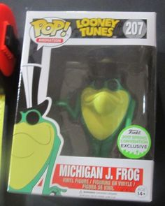 FUNKO POP MICHIGAN J. FROG EMERALD CITY COMIC CON EXCLUSIVE 2017 LOONEY TUNES  #FUNKO