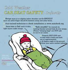 Cold Weather Car Seat Safety Tips for infants