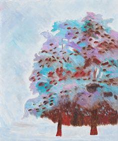 Sanghoon Oh, 여름나무 Tree in summer, Oil on canvas 73x61cm 2009