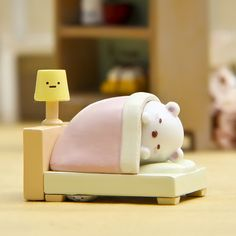 ZAKKA Sumikko Gurashi Sleeping Cat Desk Lamp Mini Figures Model Figurine Kids Toy Home Decoration Landscape Doll Collectible