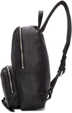 7134dd910821 Alexander McQueen - Black Small Backpack Alexander Mcqueen Clothing