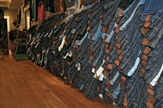 Jeanshop store NYC meatpacking