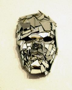 broken mirror mask by ~joanart2013 on deviantART