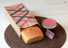 Bless This Mess: Washi Tape Canning Lids and Paper Bags.
