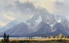 Wilson Hurley Artist | Wilson Hurley, Lot 209: West Wind of Mount Moran