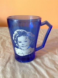 1000 Images About Shirley Temple S Blue Glassware On