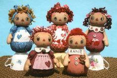 Sweet Annie Tea Cup Dolls  http://www.clothdollpatterns.com/id72.htm#