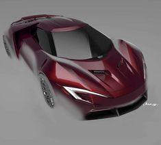 Car Design Sketch, Car Sketch, Photoshop Rendering, Supersport, Koenigsegg, Future Car, Automotive Design, Car Photos, Hot Cars