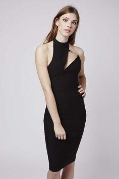 Photo 2 of **Safety Pin A-Symmetric Midi Dress by Rare