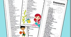 Here is a great list of books Kindergartners can read themselves in order from easiest to hardest. Book levels are listed and there is even a free printable list.