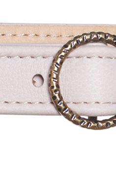 AGNONA Leather Belt $390