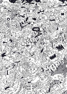 Doodle Monsta Invasion By On DeviantArt