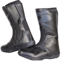 Tiendas de motos - Motorcycle Leather Boots (Spyke Cliff WP) Motorcycle Leather, Motorcycle Boots, Leather Boots, Rubber Rain Boots, Combat Boots, Cliff, Transportation, Shoes, Style