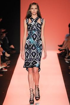 Hervé Léger by Max Azria Spring 2015 Ready-to-Wear - Collection - Gallery - Look 1 - Style.com