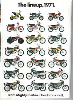 Vintage Honda Motorcycles, Honda Bikes, Motos Vintage, Vintage Bicycles, Vespa, Motos Trial, Honda Powersports, Cb 450, Honda Cub