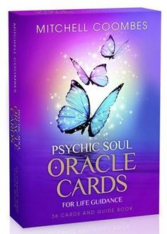 Psychic Soul Oracle Cards by celebrity medium and best selling author, Mitchell Coombes, offer insightful answers and spiritual guidance on your life.