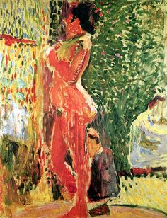 Nude in the Studio / Henri Matisse - 1899