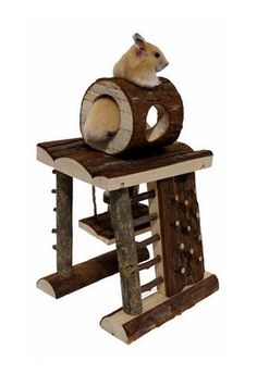 Small Animal Activity Climbing Tower, self-challenge, lol