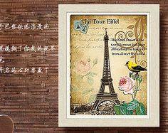 Eiffel Tower Textured Cross Stitch Kit