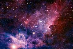 The Carina Nebula. The Carina Nebula is a region of massive star formation in the southern skies. This panorama of the Carina Nebula was taken in infrared light using the HAWK-I camera on ESO's Very Large Telescope.
