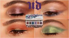 4 LOOKS 1 PALETTE: Urban Decay STONED VIBES Eyeshadow Tutorial | Simple Makeup Looks - YouTube Simple Eyeshadow Tutorial, Eye Makeup, Hair Makeup, Simple Makeup Looks, Eye Stone, Eyeshadow Looks, Makeup Inspo, Urban Decay, Palette