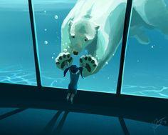 Polar Friend by VPetra