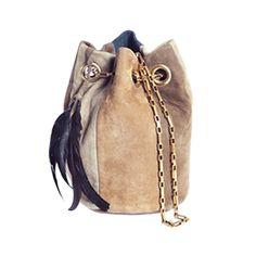 DELPHINE DELAFON: No 089 Goatskin handbag. Fun.